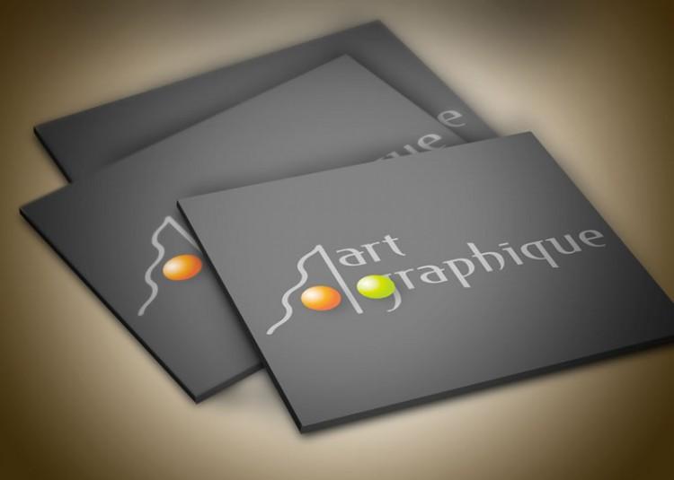 présentation stylisée logo Art Graphique -SansException
