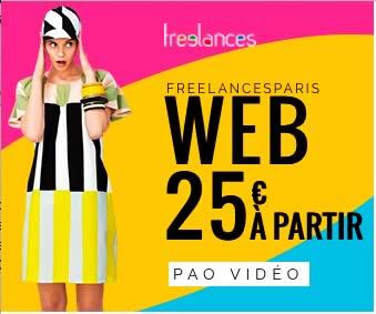 création bannière internet HTML5 animée photoshop freelances.work 0685289977 Paris France pao web vidéo illustration 14174202f12
