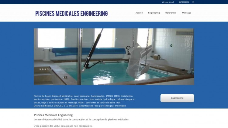 piscines médicales engineering